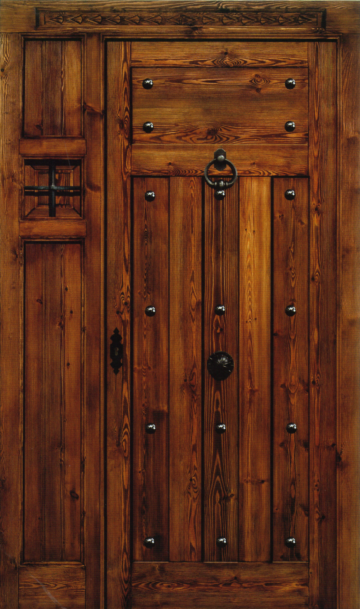 Wooden doors wooden doors rust for Custom made wood doors
